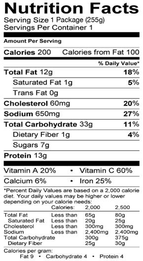 Pad See Ew Noodles - Feel Good Foods-7076