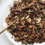 Gluten-Free Wild Rice with Cremini Mushrooms