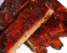 Gluten-Free Sweet and Spicy Ribs