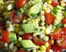 Gluten-Free Corn, Avocado and Tomato Salad