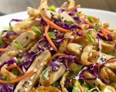 Gluten-Free Asian Chicken Noodle Salad