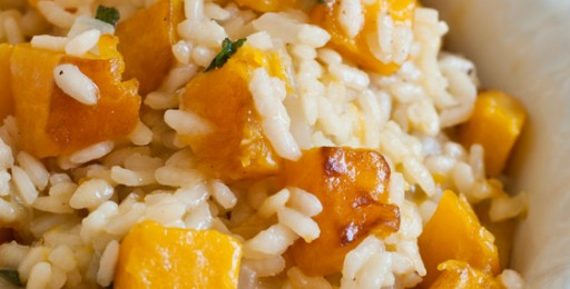 risotto with butternut squash butternut squash and scallion risotto ...