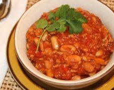 Gluten-Free Two Bean Turkey Chili