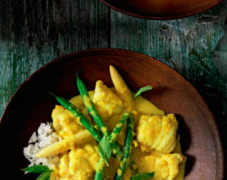 Gluten-Free Monkfish Curry with Chinese Long Beans