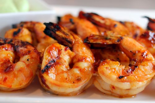 New Summer Recipe – GF Grilled Shrimp with Apple Ketchup