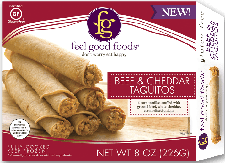 Beef Taquitos - Feel Good Foods