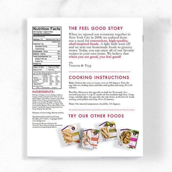 Egg Rolls - Shrimp Nutrition