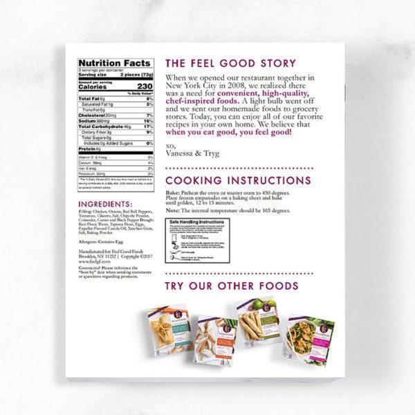 Empanadas - Chicken Nutrition