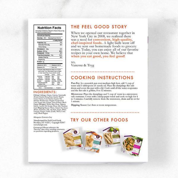 Potstickers - Vegetable Nutrition