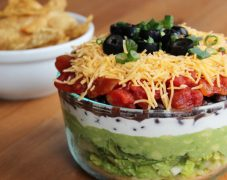 Gluten-Free Ultimate Seven Layer Dip