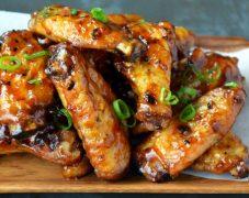 Gluten-Free Asian Wings