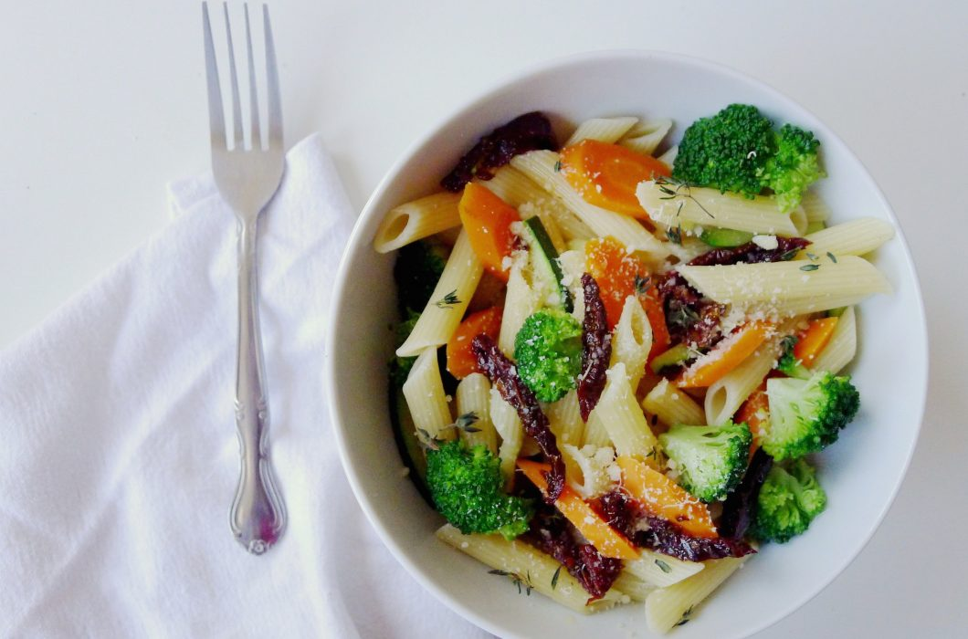 Gluten-Free Penne Primavera - Feel Good Foods